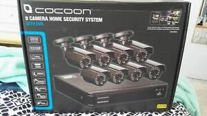 Cocoon 8 Camera Home Security System Wollongong Wollongong Area Preview