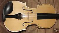 violon naturel