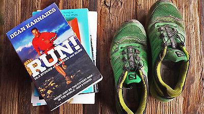 Jogging-Fachliteratur.