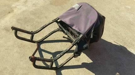 UNIVERSAL MOTORCYCLE GEARSACK CARRY RACK BAG