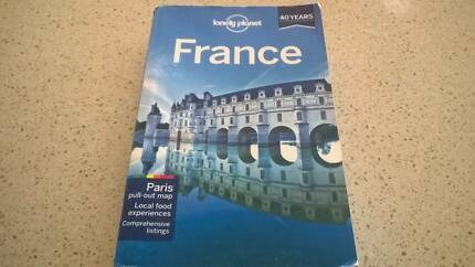 Lonely Planet guide to France 10th edition