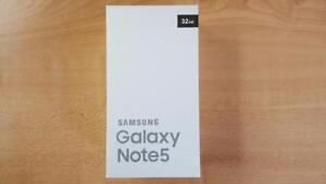 Brand New!!! Samsung Note 5 32GB Unlocked all networks including wind