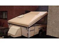 Esteral Folding caravan (not a trailer tent or camper)