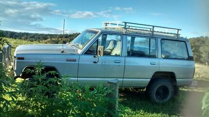 1982 Nissan Patrol wagon Turbo Diesel 5 speed manual