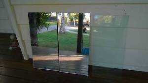 2 x mirror 1 x glass pieces Mooloolah Valley Caloundra Area Preview