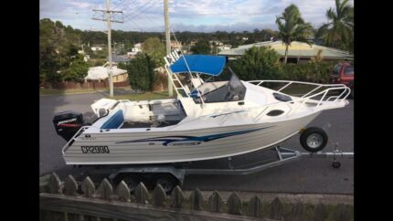 2008  660 TRAILCRAFT SPORTSCAB WITH 200hp OUTBOARD boat