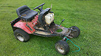 looking for unwanted riding mower