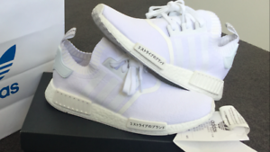 DEADSTOCK TRIPLE WHITE JAPAN NMD US SIZE 10 (FITS 10.5) Caulfield South Glen Eira Area Preview