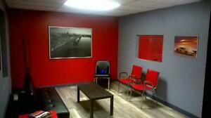 Newly renovated office with waiting room, kitchen and  bathroom