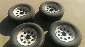 6 stud rims and tyres Loxton Loxton Waikerie Preview