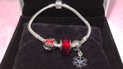 Pandora bracelet with charms, can sell individual charm