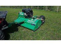 Used, Flail mower paddock topper for quad bike for sale  Kilmarnock, East Ayrshire