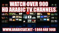 900+ HD Arabic Sat Channels Receiver