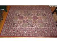Persian style large rug