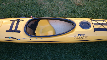 Sea Kayak and Carbon Paddle