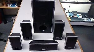 Complete 5.1 Sony surround sound speaker system for sale!