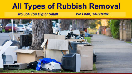 Rubbish Waste Junk Removal,Call or Text,Get a Quote
