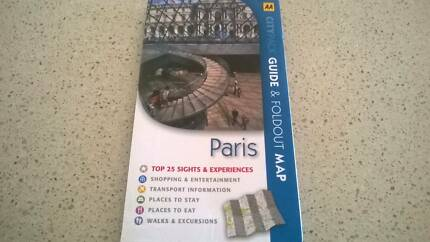 AA Citypack Paris Guide and Foldout map