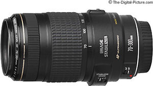 Objectif Canon 70-300mm IS USM