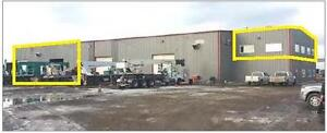 FOR SUB-LEASE – 4,815 s.f.  Industrial shop/office with yard