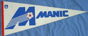 Montreal Manic NASL soccer pennant