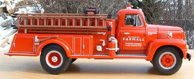 BRAND NEW IH MCCORMICK FARMALL 1957 FIRE ENGINE TRUCK - FIRST GEAR First Fire Engine