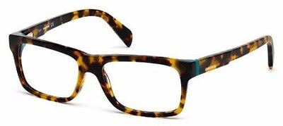 New Diesel Eyeglasses DL5071 052 Dark Havana 55mm 16mm 145mm