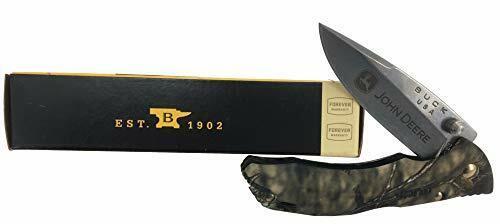 John Deere Buck Camo Lockback Knife - LP77677