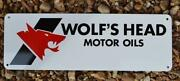 Wolf Head Sign