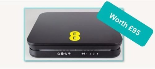 Bright Box wireless router black EE only RRP £95 **brand new**