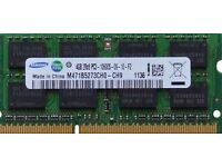 4GB Samsung RAM memory for laptop