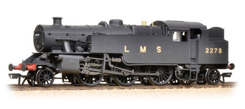 BACHMANN :- 32-880 FAIRBURN 2-6-4 Tank 2278 LMS WEATHERED  Brand New & Boxed