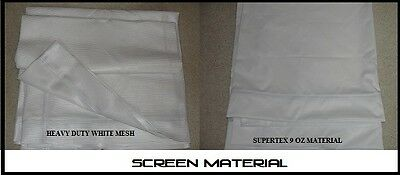 Golf Simulator Impact Screen 108 x 68 inch**POLY MATERIAL* ** NEW**MOVIE SCREEN*