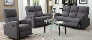 New 3PC Reclining Sofa Set Regular $2250 Now Just $1250 Taxes Included