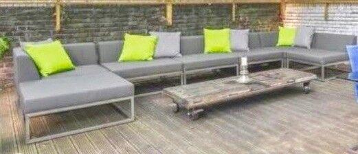 Garden Sofa by Indian Ocean: Latitude Contemporary Outdoor Furniture - Garden Sofa By Indian Ocean: Latitude Contemporary Outdoor Furniture