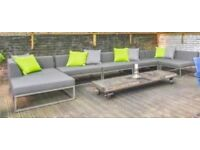 Garden Sofa by Indian Ocean: Latitude Contemporary Outdoor Furniture