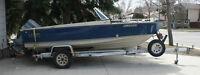 1985 LUND FISH/SKI WITH 2003 150 HP EVINRUDE