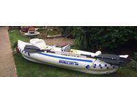 Garage find,, Sea Eagle 330 Inflatable Kayak