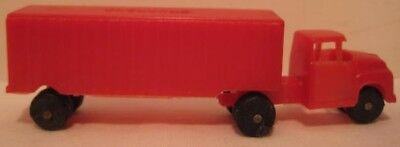 Old 1960s Kelloggs Cereal Premium Toy Fruehauf Plastic Semi Truck