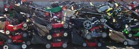 Wanted lawnmower end of life broken damaged mower non runner chainsaw strimmer petrol garden machine