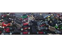 Lawnmower parts for sale engines handles carbs mountfield Honda mower spares wheels brackets bearing