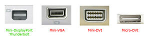 Mini DisplayPort to HDMI adapter for Apple Macbook