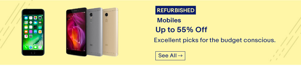 offers on select refurbished products