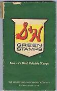 S H Green Stamps Sign