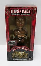 2001 Rumble Heads, bobble heads with attitude WWE THE ROCK Aspen