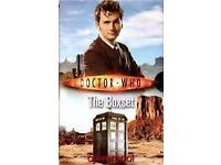 Set of Ten Dr Who paper-back books