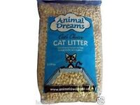 CAT LITTER WOOD BASED ANIMAL DREAMS 30L *NEW BAG* COLLECTION ONLY ADAMSDOWN