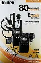UNIDEN UH720SX-2 NB 2W UHF 80 CHANNEL TWIN HANDHELD RADIOS Warners Bay Lake Macquarie Area Preview