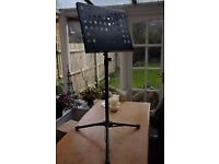 Music Stand orchestral style Stagg