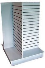 3x Slatwall/Slotwall Freestanding Shop Fitting Display Stand Hornsby Hornsby Area Preview